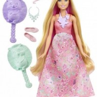 Jucarie fetite papusa Barbie Dreamtopia Color Stylin Princess