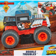 Masinuta Hot Wheels Monster Truck, 1:24, Bone Shaker