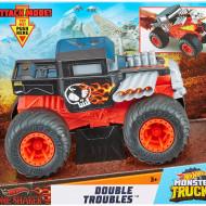 Masinuta Hot Wheels Monster Truck, 1:24, Bone Shaker