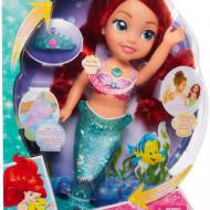 Papusa interactiva Disney Princess, Ariel - Glitter and lights