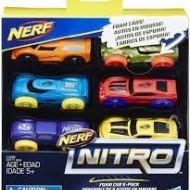 Set 6 masinute de spuma Nerf Nitro