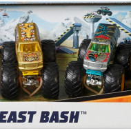 Set Mattel, Hot Wheels 4 masinute monster trucks