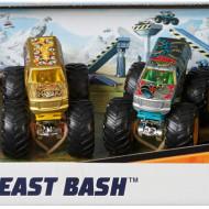 Set Mattel, Hot Wheels 4 masinute monster trucks