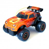 Jucarie baieti Masinuta New BrightTurbo Dragons Inferno 1:18 4,5V 40MHz - Black Friday