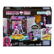 Jucarie fetite Mega Bloks Monster High Stage Fright Building Set - Catty Noir