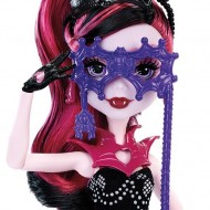 Papusa Monster High Draculaura cu masti