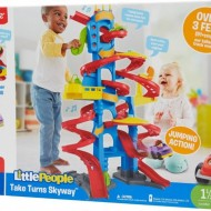 Jucarie bebelusi Fisher Price Little people turns skyway