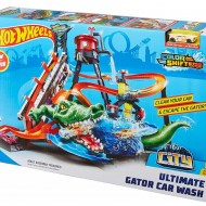 Set de joaca spalatorie auto Hot Wheels Ultimate Gator Car Wash City