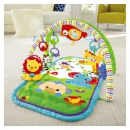 Jucarie bebelusi salteluta Rainforest Friends 3-in-1 Musical Activity Gym Fisher Price