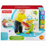 Jucarie bebelusi Fisher Price Roller Blocks Play Wall Toddler