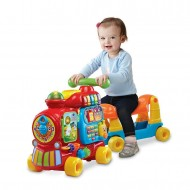 Jucarie bebelusi trenulet alfabet push and ride Vtech