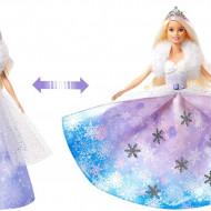 Papusa Barbie Dreamtopia - Printesa de Iarna