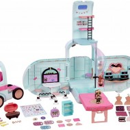 Jucarie LOL Surprise 2 in 1 Glamper Fashion Camper cu 55+ Surprize