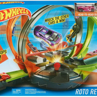 Circuit cu bucle Hot Wheels Roto Revolution