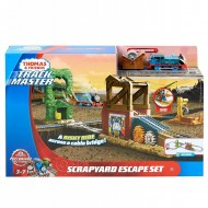 Jucarie baieti Thomas and friends Scrapyard escape set