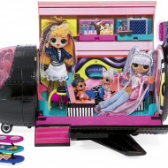 LOL Surprise OMG Remix 4-in-1, set de joaca avion cu 50 de surprize