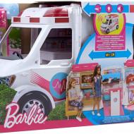 Barbie ambulanta cu sunete si lumini