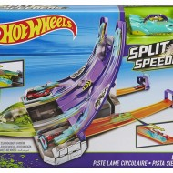 Jucarie baieti Hot Wheels Split Speeders Blade Raid