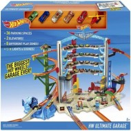 Jucarie baieti Hot Wheels Ultimate Garage