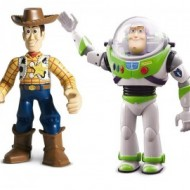 Jucarie copii Toy Story Buzz si Woody walkie - talkie