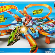 Jucarie baieti Hot Wheels Criss Cross Crash
