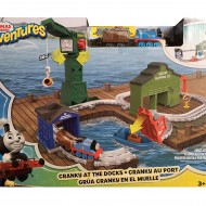 Jucarie baieti Thomas & Friends Adventures Railway Cranky At The Docks
