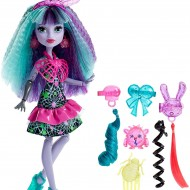 Jucarie fetite papusa Monster High Electrified Monstrous Hair Ghouls Twyla