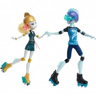 Jucarii fetite set papusi Monster High Lagoona Blue si Gill Gillington Mattel