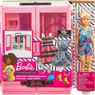 Set de joaca Barbie Fashionistas cu sifonier