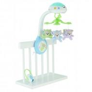 Jucarie bebelusi carusel muzical cu proiectie Fisher Price