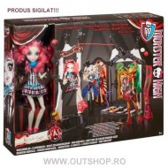 Jucarie fetite set circus scaregrounds Monster High Rochelle Goyle Mattel