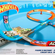 Hot Wheels pista Figure 8 raceway