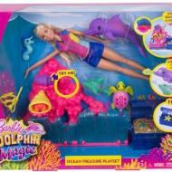 Papusa Barbie - delfin - comoara din ocean