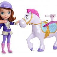Papusa printesa Sofia si calul ei magic Minimus
