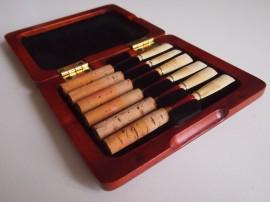 Coffret de luxe « Elegance » pour 6 tubes de hautbois
