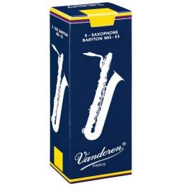 VanDoren Traditional Rieten Baryton-Saxofoon doosje 5 stuks