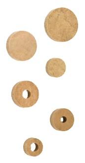 Pastilles en liège Pisoni. Epaisseur 3 mm Nr. 9021209
