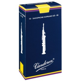 VanDoren Traditional Blätter Sopransaxophon Packung 10 Stück ANGEBOT