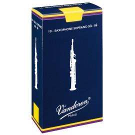 VanDoren Traditional Rieten Sopraan-Saxofoon doosje 10 stuks AANBIEDING