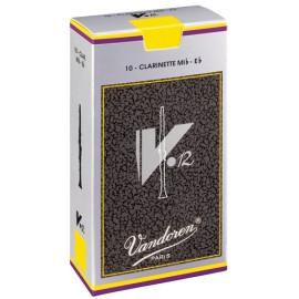 VanDoren V12 Blätter Es-Klarinette Packung 10 Stück