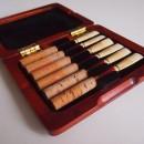 « Elegance » luxus reed case for 6 oboe reeds