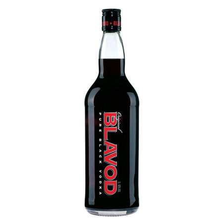 Blavod Original Black Vodka - 1000 ml