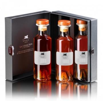 Cognac Deau Tasting Kit VS VSOP XO 40% - 3 X 200 ml
