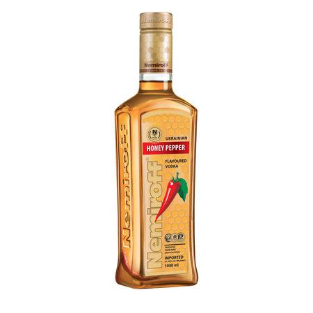 Nemiroff Vodka Honey Pepper - 1000 ml
