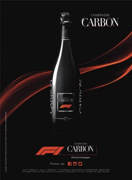 Sampanie Carbon F1 - 750 ml