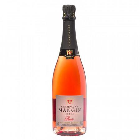 Sampanie Mangin Rose 12%, 750 ml