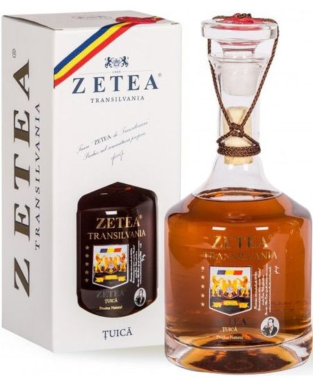 Tuica De Transilvania Zetea - 700 ml 50 %
