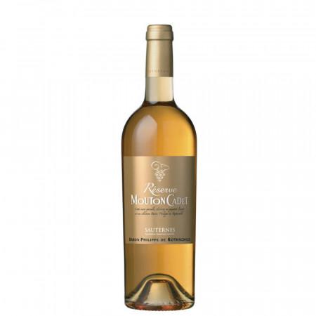 Vin alb dulce, Mouton Cadet - Reserve Sauternes blanc, 750 ml