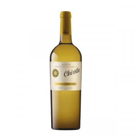 Vin alb sec Chivite Coleccion 125, Blanco 2014, 750 ml