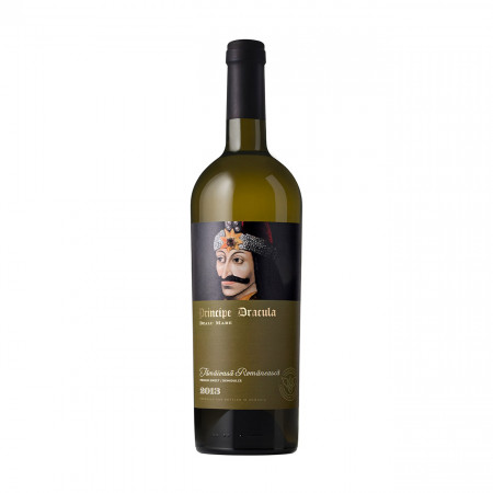 Vin alb sec, Principe Dracula Tamaioasa Romaneasca, 750 ml